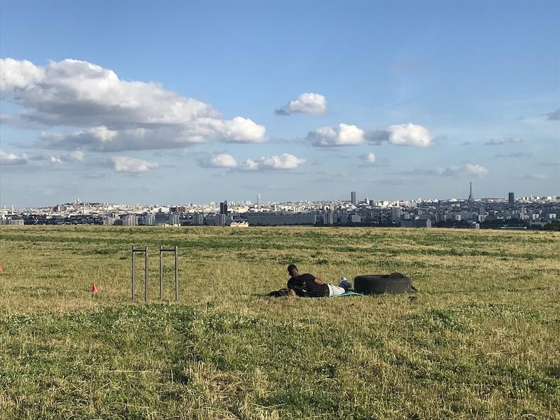 Le panorama depuis la butte d'Orgemont à Argenteuil