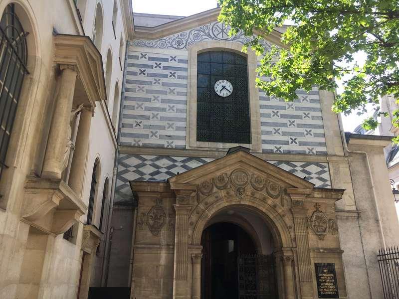 façade Sainte Croix des Arméniens