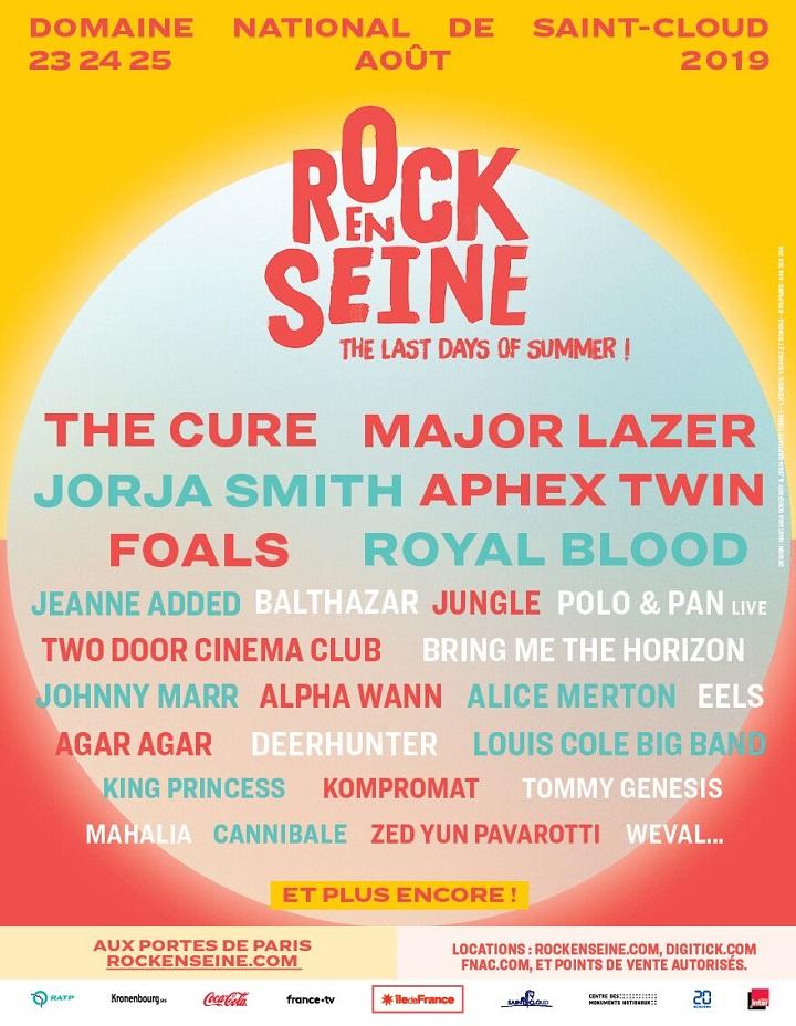 """Résultat de recherche d'images pour """"rock en seine 2019"""""""