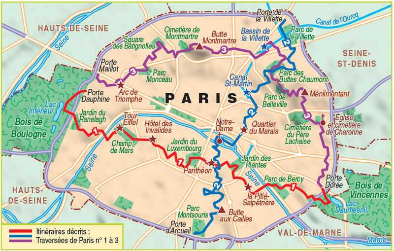 sentier randonnées parisiens
