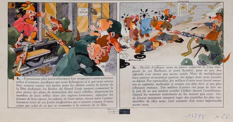 La bête est morte, d'Edmond-François Calvo (dessin), Victor Dancette et Jacques Zimmermann (scénaristes)