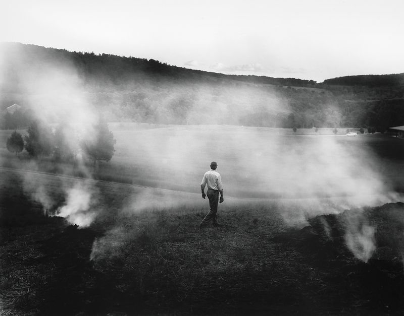 The Turn 2005 Sally Mann Gelatin silver print. Private collection.