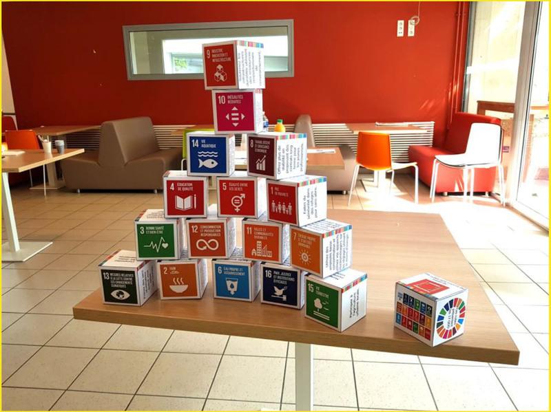 photo cubes en papier