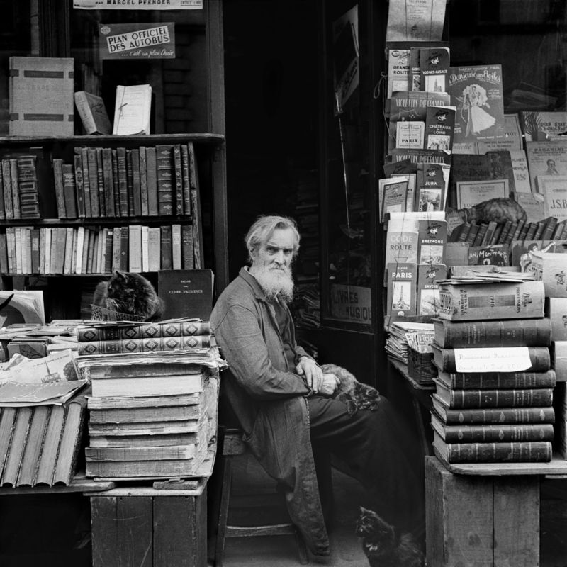 Le libraire Paris, 1948