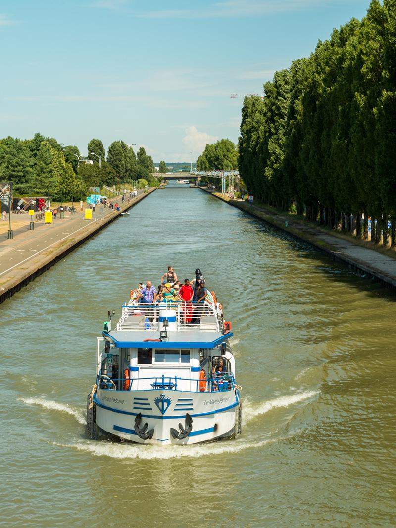 La croisière Brunch de l'Eté du Canal avec les Marmites Volantes