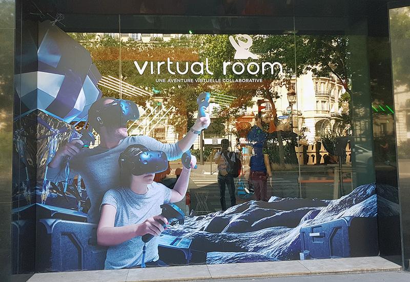 Virtual Room, vitrine