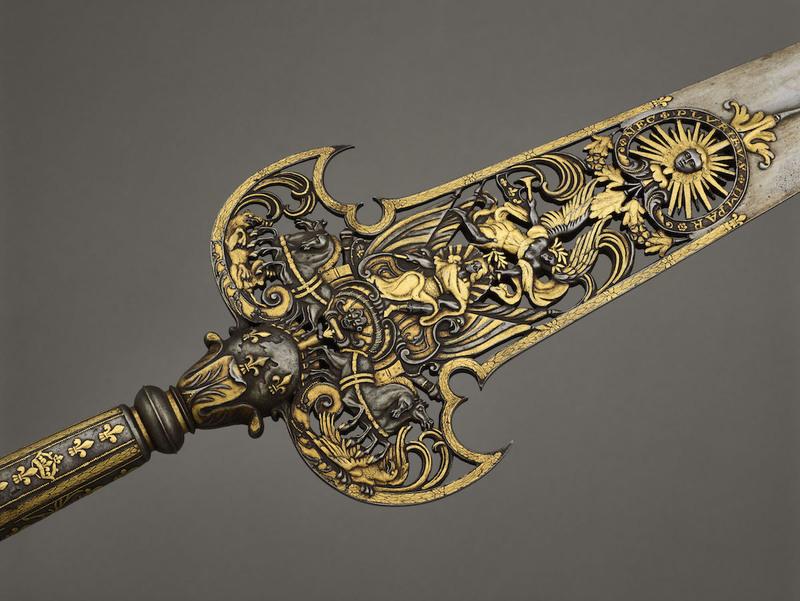 Pertuisane des gardes de la manche de la Maison du Roi, Paris, musée de l'Armée © Paris - Musée de l'Armée, Dist. R