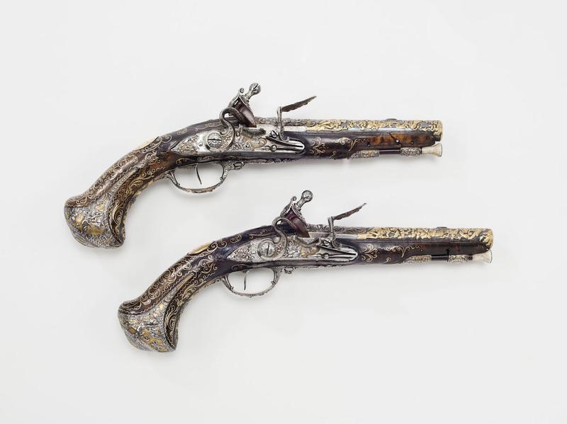 Paire de pistolets dits du duc de Berry, Paris, musée de l'Armée © Paris - Musée de l'Armée,