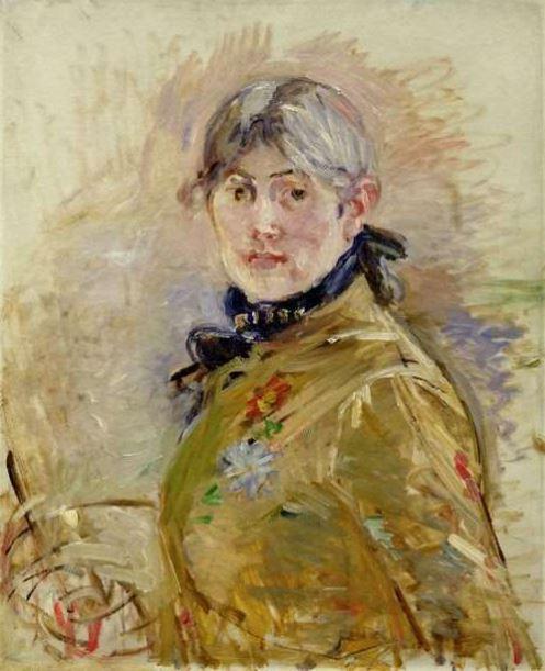 Autoportrait (1885) Berthe Morisot