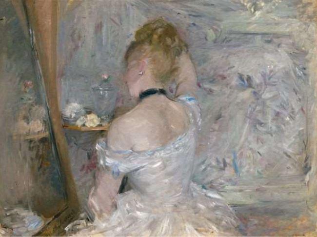 Femme à sa toilette (1875)