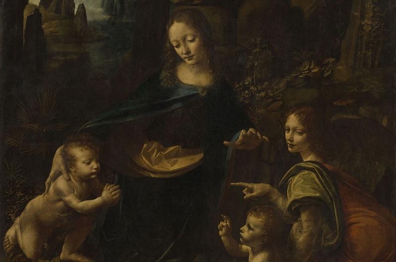 Léonard_La Vierge aux rochers