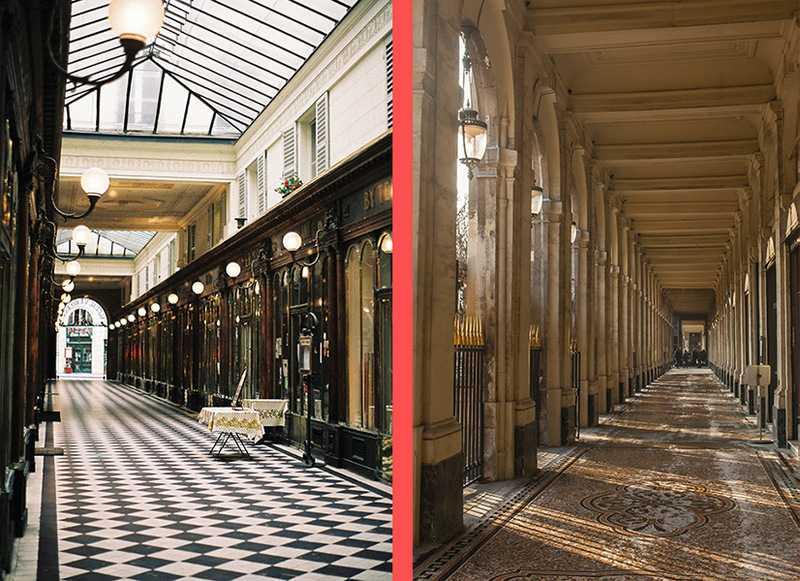 Galerie Véro-Dodat et Les Galeries du Palais Royal