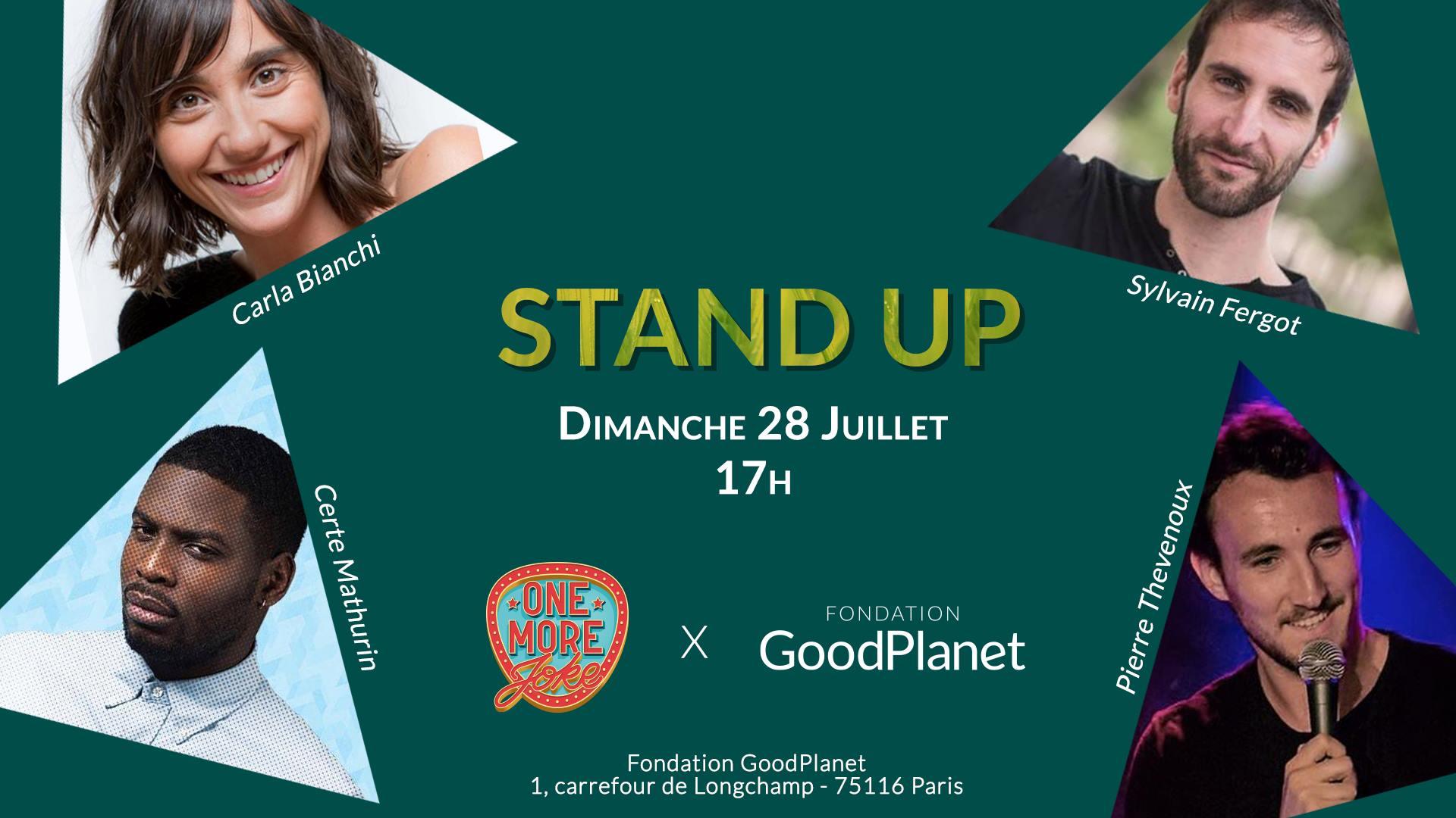 One More Joke : Stand-Up en plein air !