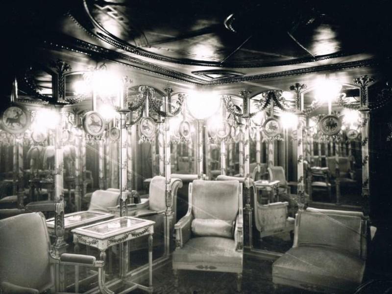 Salon Pompei Le Chabanais