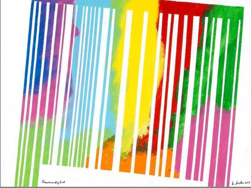 Fauvisme digital, acrylique sur toile 2013