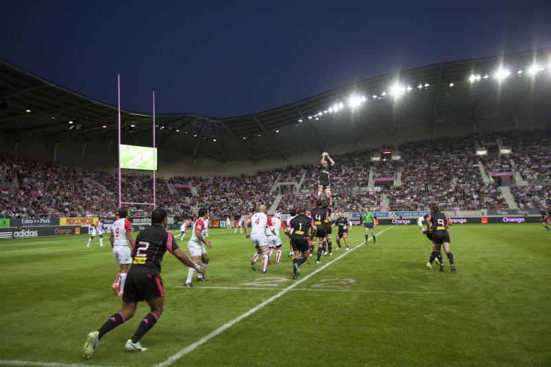 Match d'ouverture stade Français/Biarritz à Jean Bouin