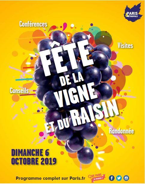 Affiche vigne 2019
