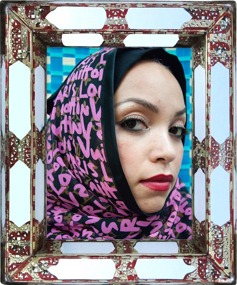 Hassan Hajjaj Gretchen De la série « Hijab »
