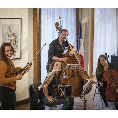 Concert du Cuarteto Lunares |