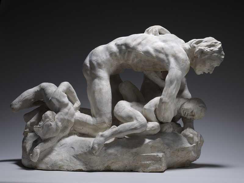 Ugolin, par Auguste Rodin