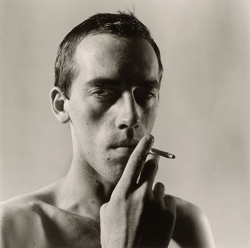 David Wojnarowicz 1981 Peter Hujar Tirage gélatino-argentique, Collection of Ronay and Richard Menschel