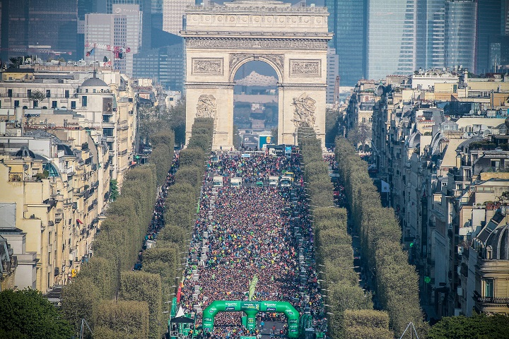 Le Schneider Electric Marathon de Paris