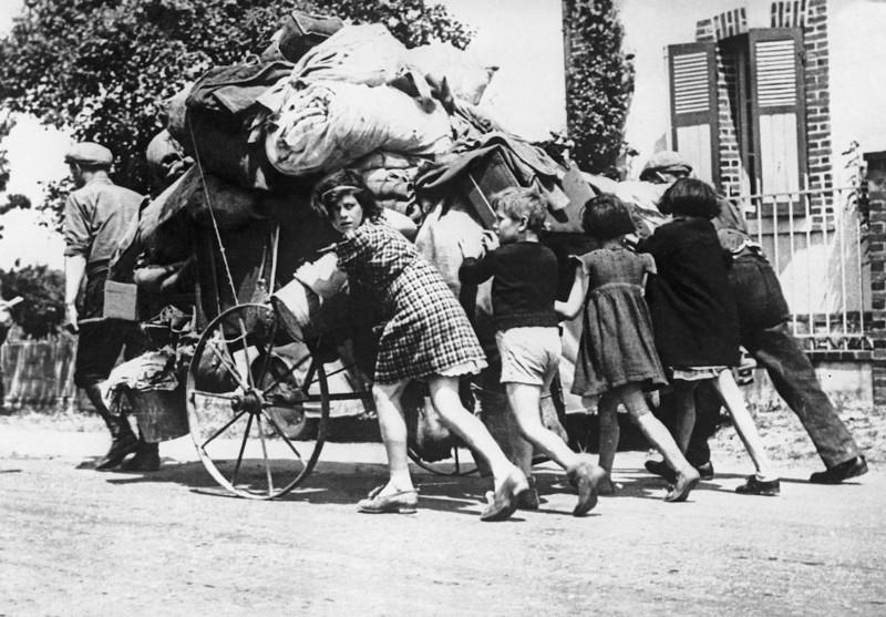Exode de mai-juin 1940 en France