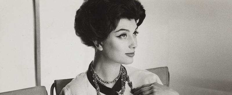 Tailleur Chanel, Vogue français, 1958