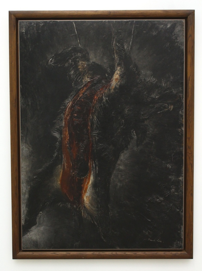 Le Grand sanglier noir, Jean Fautrier