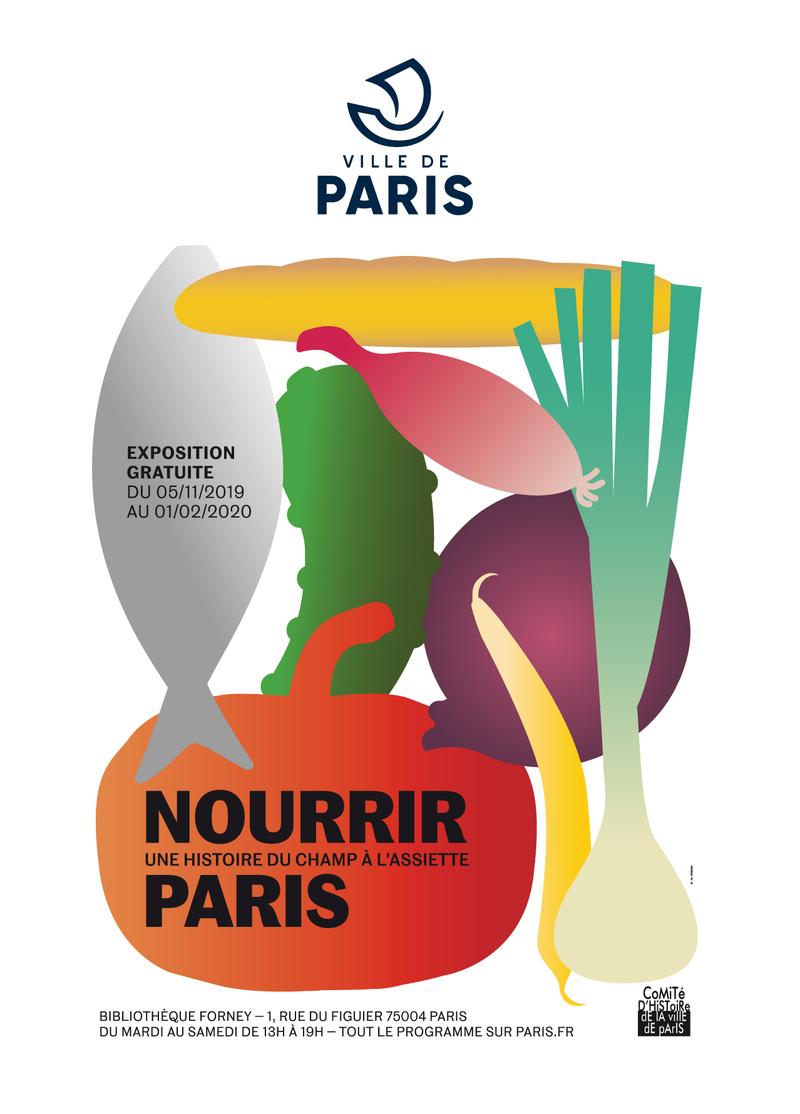 Affiche de l'exposition / Ville de Paris