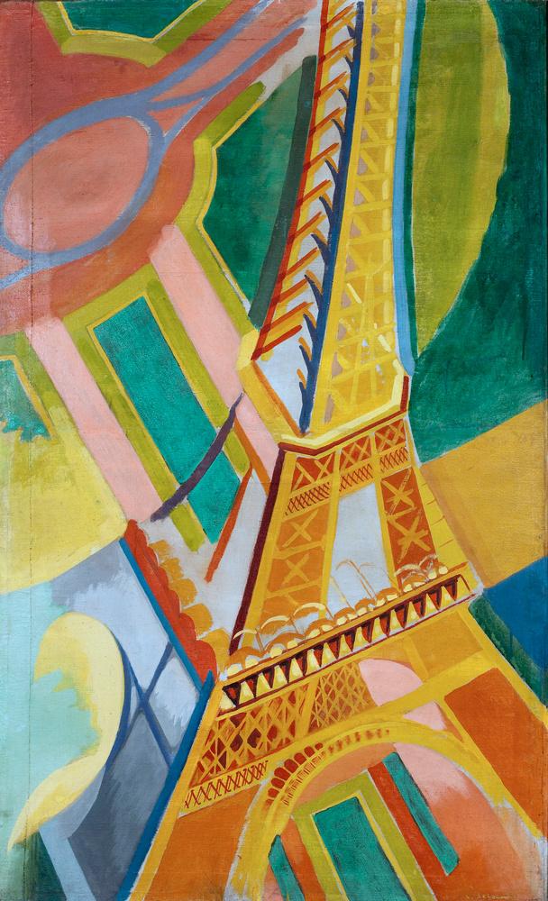 Robert DELAUNAY, Tour Eiffel,1926