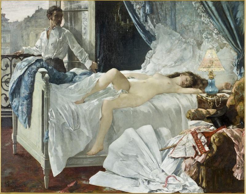 Henri Gervex (1852-1929) Rolla 1878 Huile sur toile 176,2 x 221,3 cm Bordeaux, Musée des Beaux-Arts de Bordeaux, dépôt du Musée d'Orsay Photo