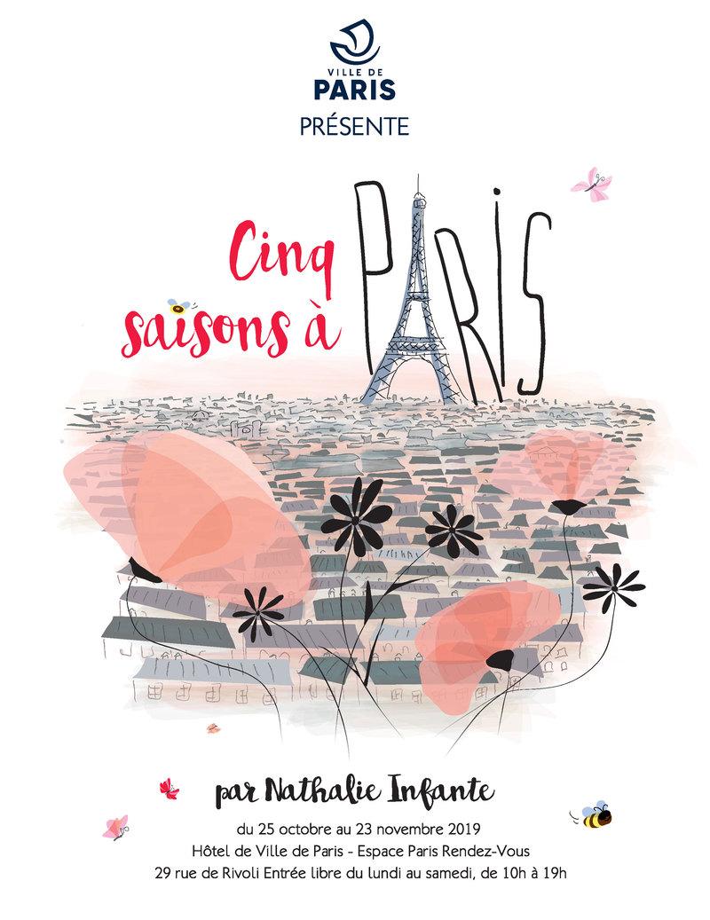 Cinq Saisons à Paris
