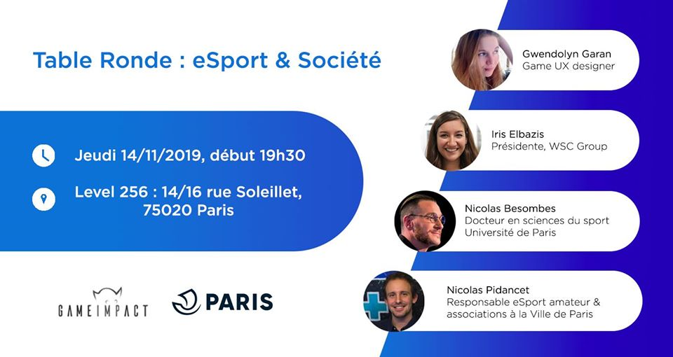 Table Ronde : eSport & Société