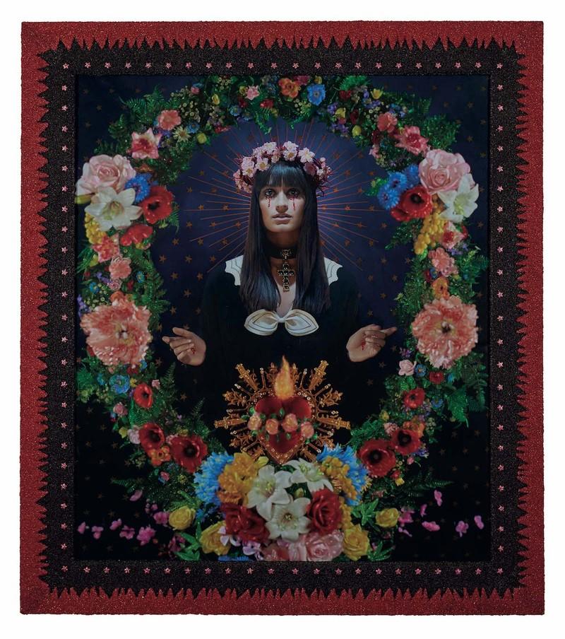 La Madone aux fleurs, Clara Luciani, Collection Pierre et Gilles, Courtesy Galerie Templon, Paris-Brussels