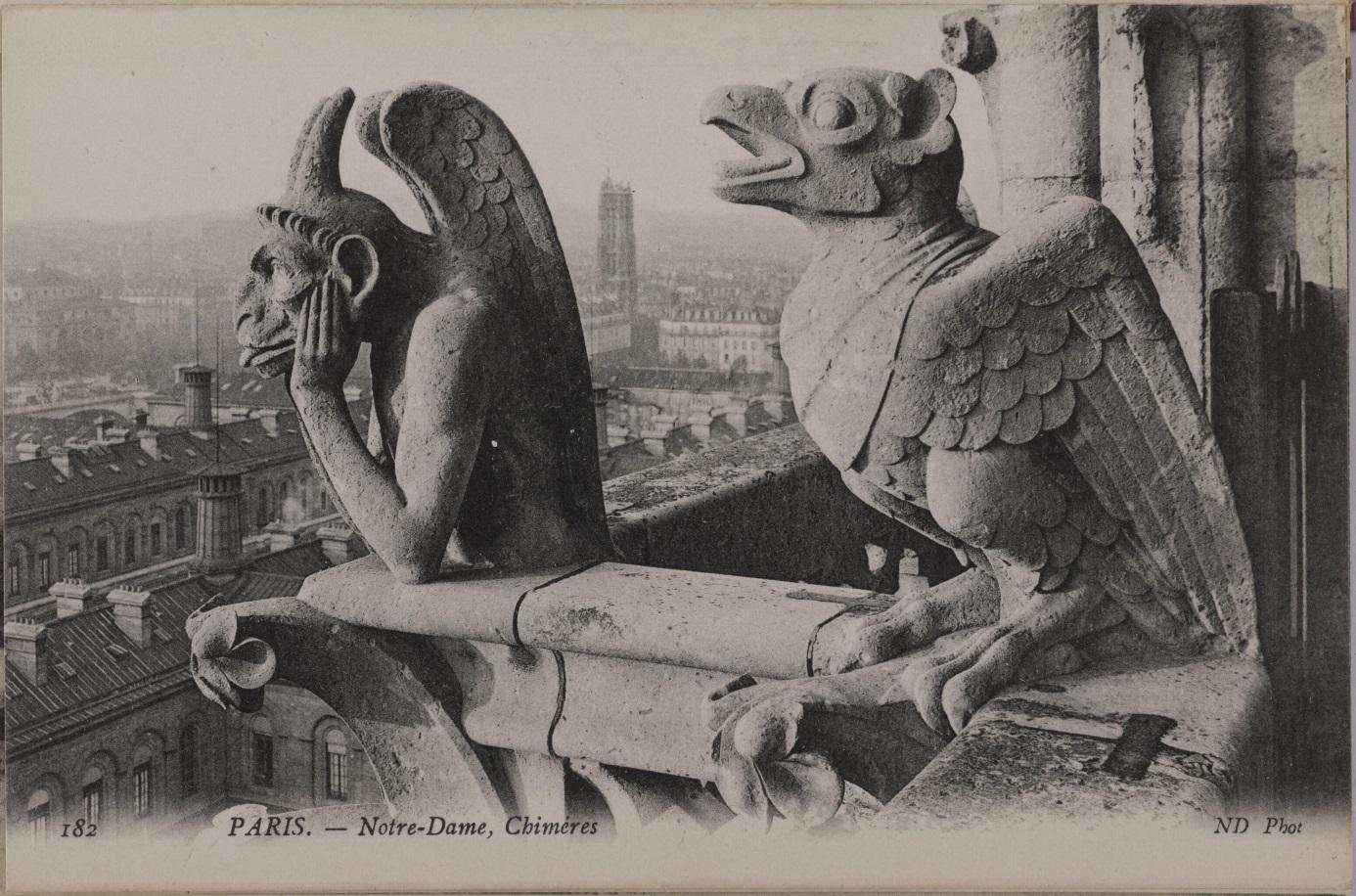Les Chimères de Notre-Dame : exposition |