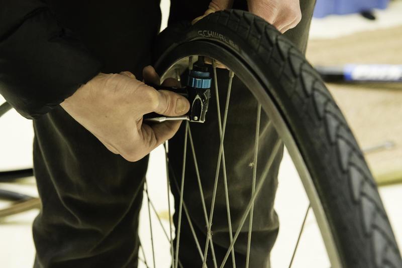 Réparation de vélos