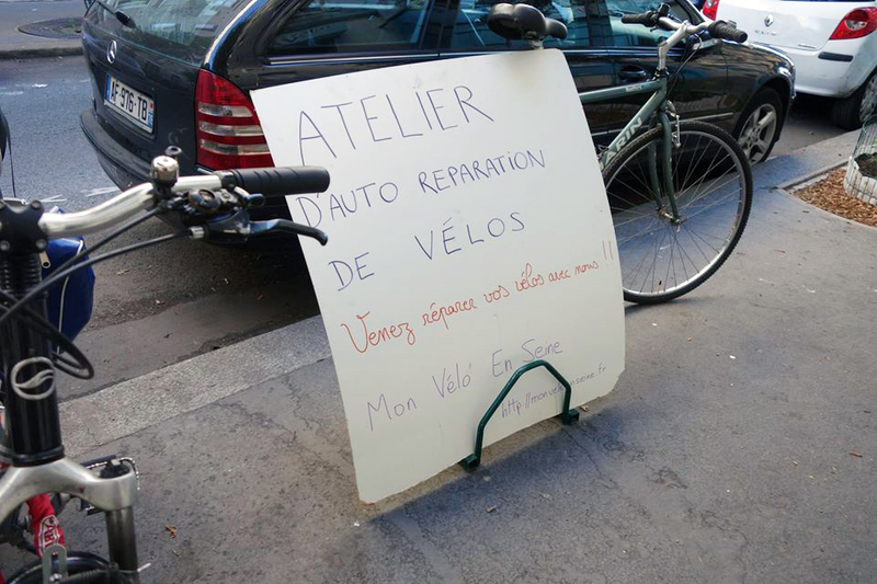 Mon vélo en Seine