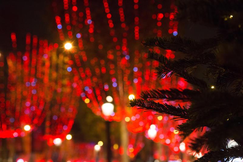 Illumination des Champs Elysées