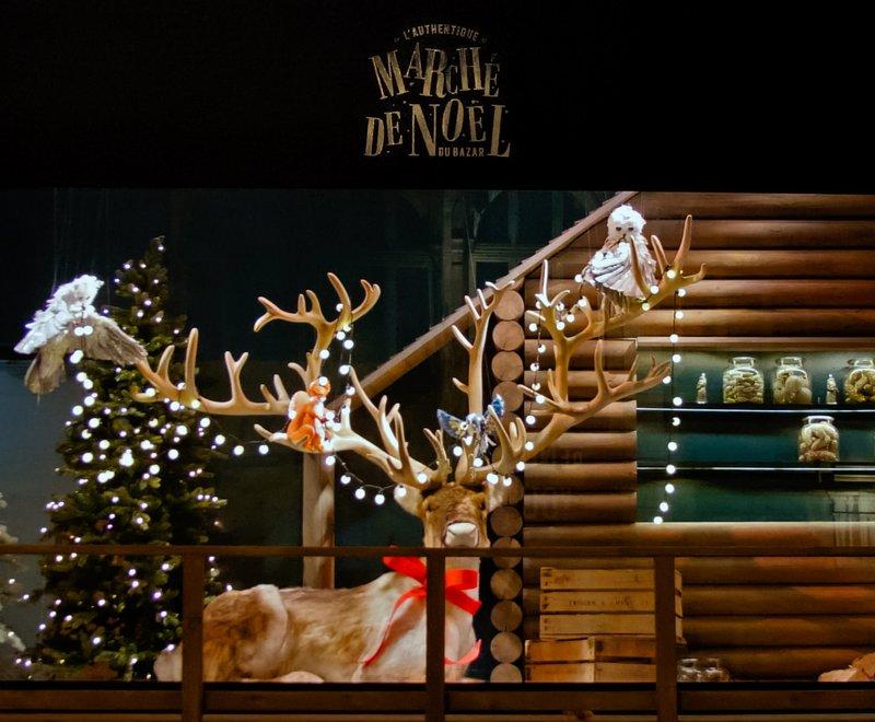 Noël aux couleurs de l'Alsace au BHV Marais