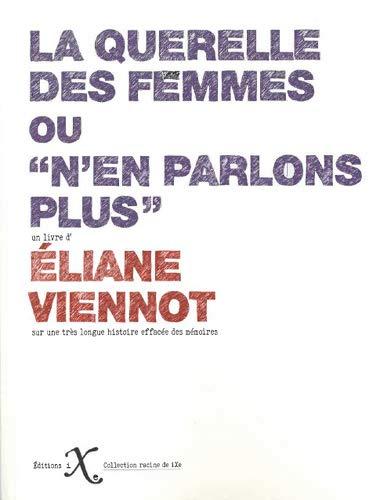 """couverture du livre """"la querrelle des femmes"""""""