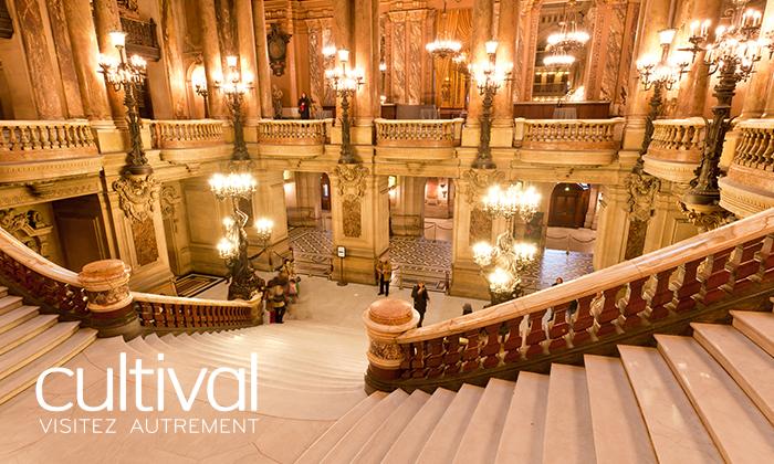 Le Palais Garnier, un chef d'œuvre architectural