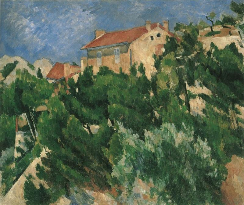 Paul Cézanne Paysage en Provence 1879-1882