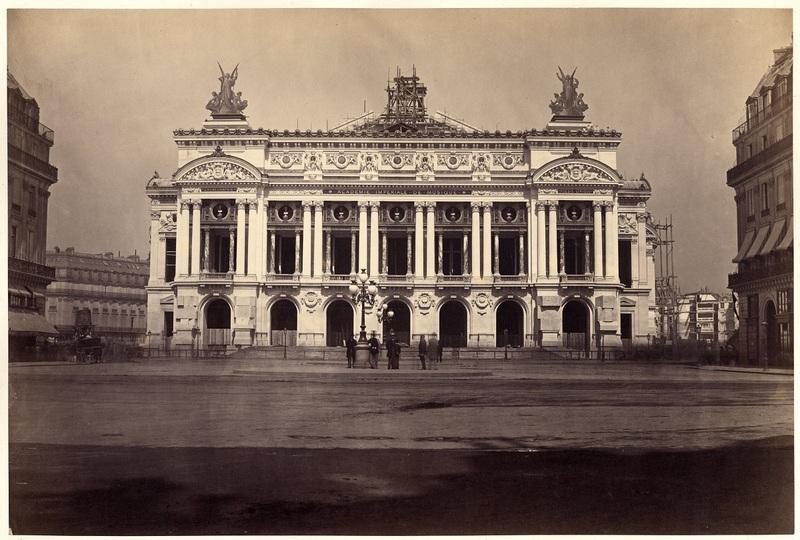Dévoilement de la façade du nouvel Opéra, 15 août 1867