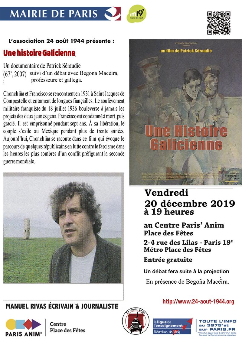 Une Histoire galicienne de Patrick Séraudie