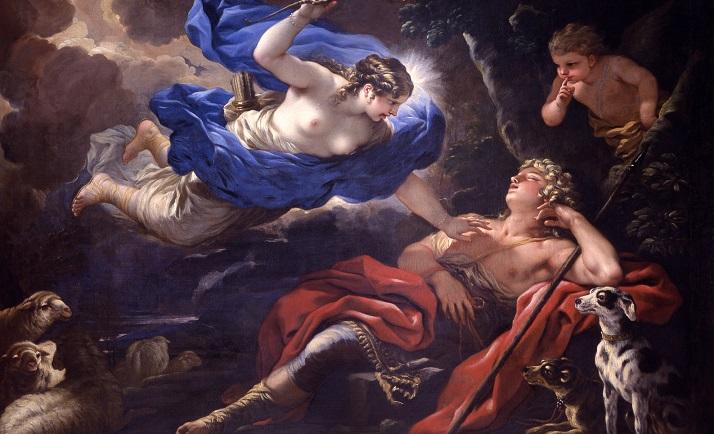 Diane et Endymion, Luca Giordano