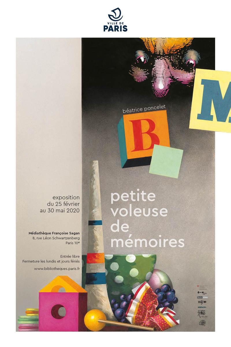 Béatrice Poncelet, Petite voleuse de mémoires, 2019.