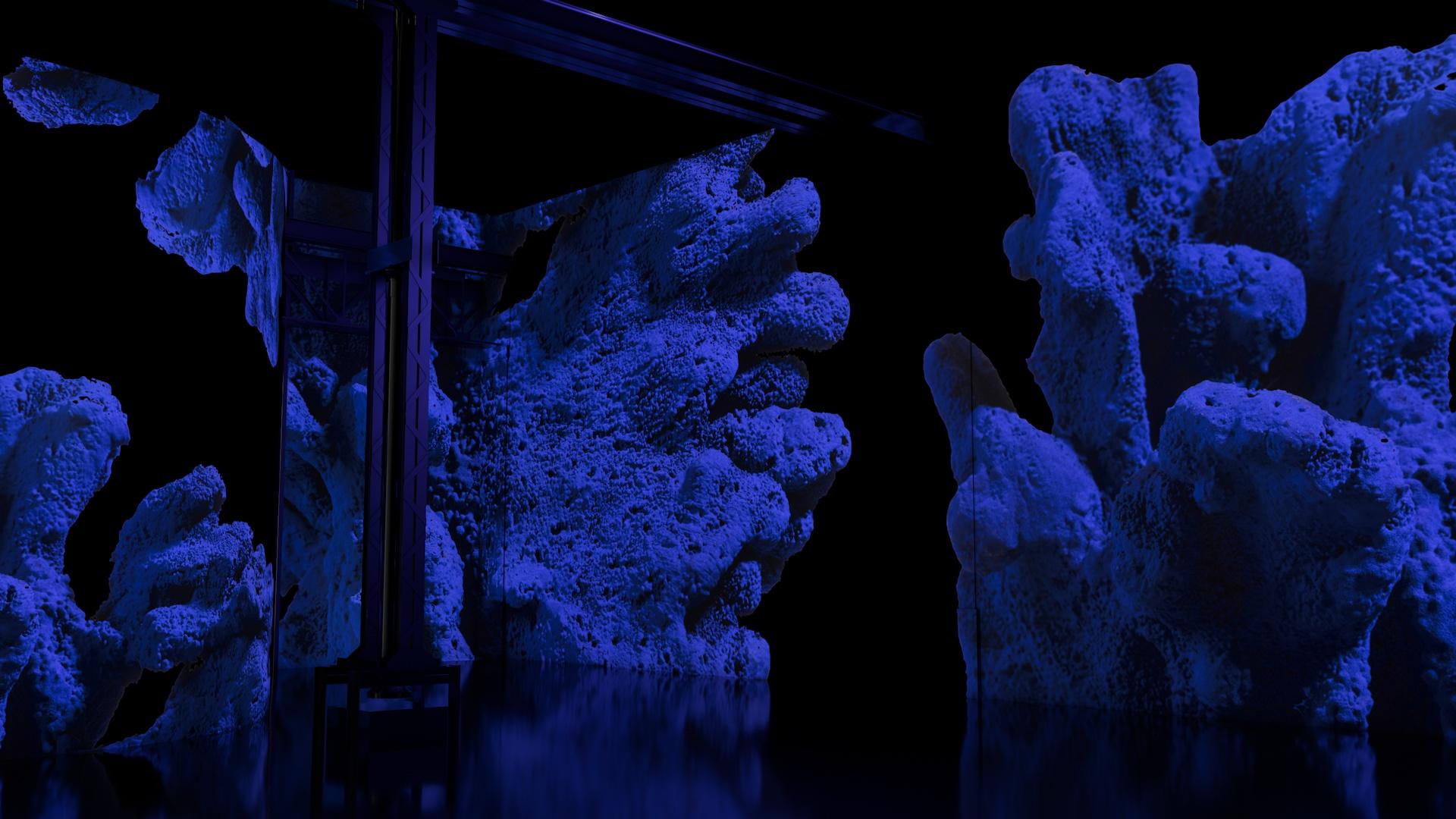 Yves Klein, l'infini bleu