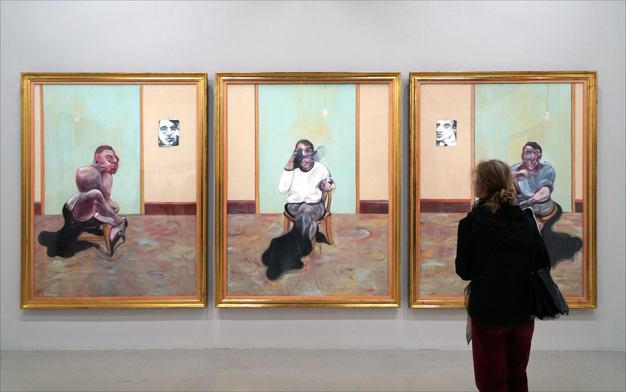 Francis Bacon au Centre Pompidou