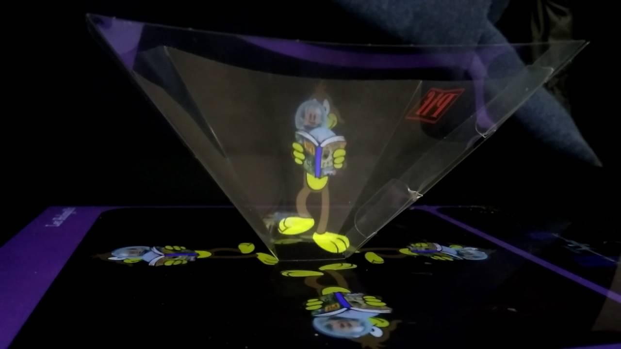 Festival Numok : création d'un hologramme |